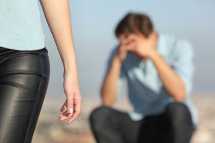 angoisse d'abandon et de la rupture